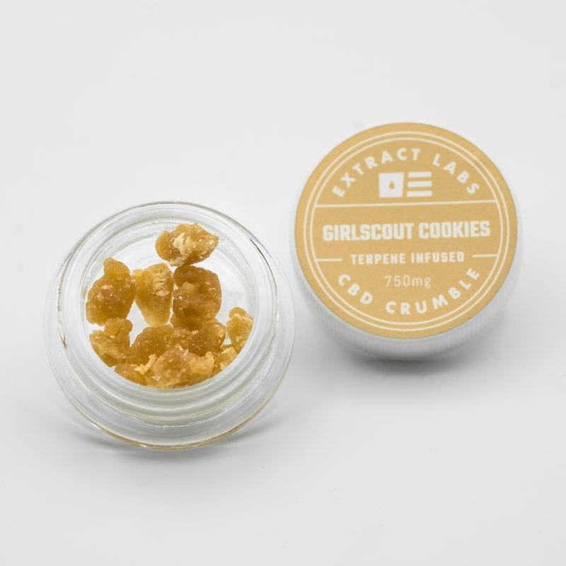 Extract Labs - Cookies CBD Crumble
