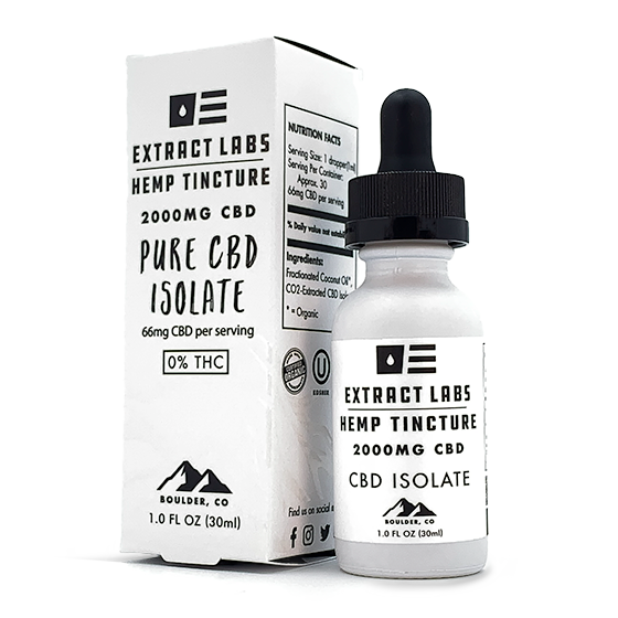 Pure CBD Isolate Tincture