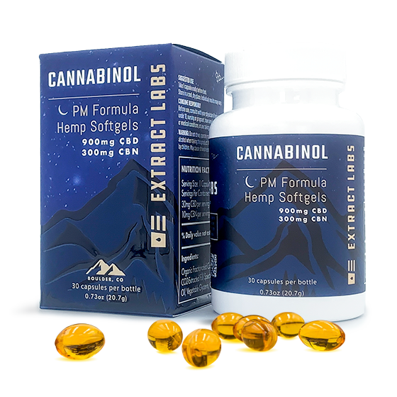 Extract Labs PM FORMULA CBN CAPSULES