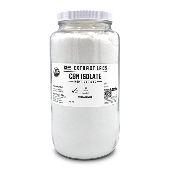 Bulk CBN Isolate Product | Extract Labs